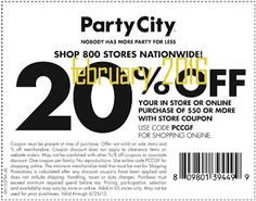 Party City Coupons Ends of Coupon Promo Codes APRIL 2020 ! When grandma's your deserving parties splendid where we Party creatin. Store Coupons, Grocery Coupons, Online Coupons, Coupons For Boyfriend, Free Printable Coupons, Welcome To The Party, Custom Banners, Party Stores, Coupon Organization