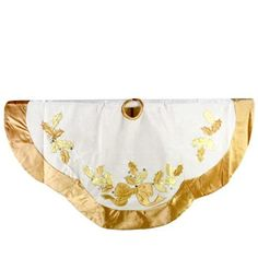 "48"" Scallop Shaped Ivory Gold Velvet Christmas Tree Skirt by Sterling Inc., http://www.amazon.com/dp/B00A3WB57W/ref=cm_sw_r_pi_dp_v7J1rb0YEJVHC"