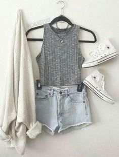 Stunning 50 Cute Summer Outfits Ideas For Teens Fashiotopia A Wrap Out . - Stunning 50 Cute Summer Outfits Ideas for Teens fashiotopia A Wrap Outfit GQ Stunning 50 Cute Summe - Tumblr Outfits, Mode Outfits, Tumblr Clothes, Fashion Mode, Teen Fashion Outfits, Fall Outfits, Fashion Ideas, Shorts Outfits For Teens, Dress Outfits