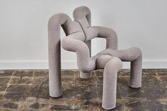 """Pair of """"Ekstrem"""" Lounge Chairs by Terje Ekstrom 4"""