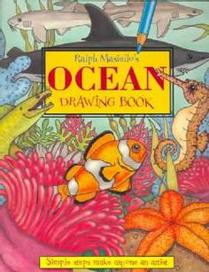 Ocean Drawing Book Illustrator Ralph Masiello makes a splash with this new addition to his popular drawing series. Easy steps and clear diagrams show kids how to draw the following animals: clams, squid, starfish (sea stars), clownfish, anemone, seaweed, coral, dophins, sea horses, moray eels, sharks, and even a humpback whale.