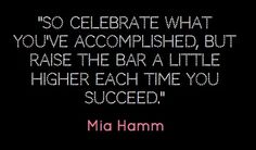 Mia Hamm quote | Mia Hamm quote | OBSESSED