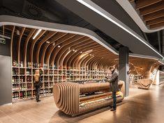 Retail shop in Budapest by Architecture Shop Interior Design, Retail Design, Store Design, Exterior Design, Design Commercial, Centre Commercial, Commercial Interiors, Space Projects, Design Projects