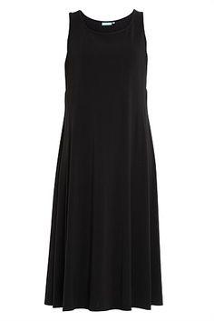 Side Insert Midi Dress - Designer Women's Clothes Online