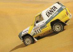 Nissan Patrol, Dakar Rally 1987.