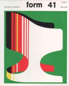 form N° 41. Mar 1968. Cover: Karl Oskar Blase. © Verlag form GmbH & Co. KG