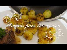 Patatas para Guarnicion | Guarniciones para carnes | Patatas de Guarnicion | Patatas Parisinas - YouTube