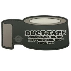 5 Star Gear PVC Morale Patch Duct Tape Hook Back Loop For Attachment