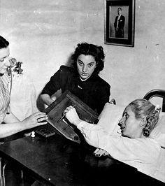 Eva Perón - last days