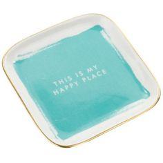 Tricoastal Design Ceramic Trinket Tray