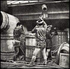 Barrel Makers in Japan