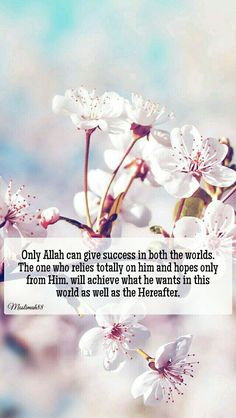 On Allah (swt) we rely only.