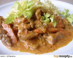 No Salt Recipes, Meat Recipes, Recipies, Pecan Pralines, Russian Recipes, Food 52, Thai Red Curry, Stew, Good Food