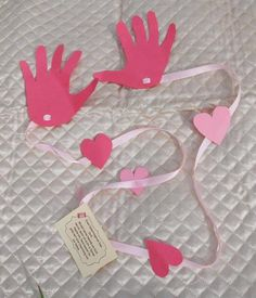 MAIL A HUG! This is a cute idea to mail a hug to a grandparent for Mother's Day!  http://thepartyevent.wordpress.com/2012/02/05/valentines-crafts-for-kids-a-long-distance-hug-a-beautiful-present-for-someone-special-diy/