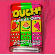 90s candy. I miss this stuff so much. I was addicted.
