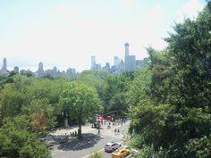 Central Park visto dal Museo di storia naturale