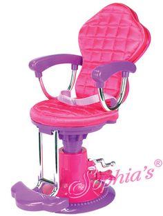Salon Chair Fits 18 Inch American Girl Dolls Accessories Furniture