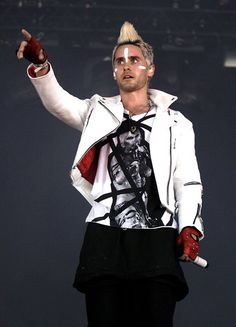Jared Leto!!  30 Seconds to Mars