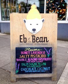 "159 Likes, 4 Comments - Eb & Bean (@ebandbean) on Instagram: ""Current flavors! Non-dairy flavor change coming Friday! #ebandbean"""