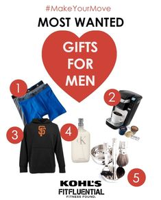 #MakeYourMove with Valentine's Day Gift Guides for Him and Her - our most wanted picks for him from partner @kohls