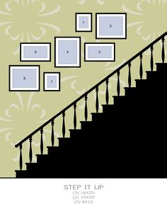 Stairway Photo Gallery Staircase Photo Wall Stairway Gallery Wall Layout Beach Stairs Photo Wall Art How To Create Stairway Photo Gallery Stairway Picture Wall, Stairway Photos, Gallery Wall Staircase, Stairway Photo Gallery, Picture Frames On Wall, Pictures On Stairs, Gallery Wall Layout, Gallery Walls, Photo Wall Layout