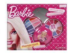 Estojo de Maquiagem Barbie com Espelho - Candide com as melhores condições você encontra no Magazine 123claudia. Confira!