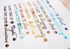 Diamine Shimmertastic inks