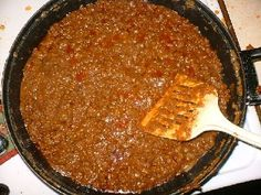 Original Tommy's Chili Recipe. Can't wait to make this. Oh, Tommy's...how I miss you!