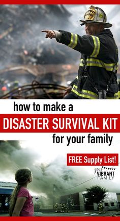 I'll be the first to admit that my family's emergency supply kit is lacking. Severely.  But I'm guessing that my family isn't the only one? If you're reading this post, chances are that you're also needing help on creating a natural disaster preparedness kit for your family.  Here are ideas on how to make a disaster preparedness kit, including what emergency supplies are needed.  Don't miss the free printable disaster preparedness kit list at the end of the post!