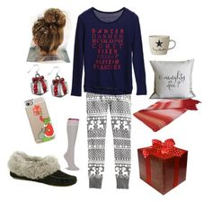 """Kacey on Christmas Morning"" by bearpawstyle on Polyvore featuring Casetify"