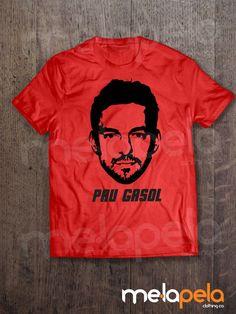 PAU GASOL  Chicago Bulls T-Shirt by MelaPelaClothing