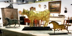 Michael Whittemore Antiques and Folk Art, Punta Gorda, Fla. at the York Antiques Show & Sale