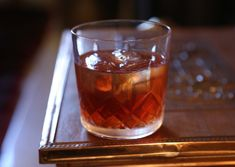 A festive take on the Vieux Carré, with the addition of a Cognac and port based mulling liqueur.