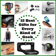 Since being geeky is cool again, honor their passions and let their geek flag fly with these twelve best gifts for every kind of geek in your life.