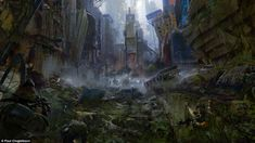 A matter of time? In the illustrations, massive metal buildings dwarfing landmarks such as Sacre Coeur and the Eiffel Tower feature, while Times Square in New York (pictured)looks like it has fallen on hard times in the dystopian vision of the future