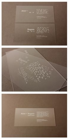 Cool wedding invite - La caja de tipos