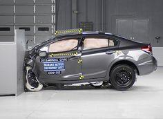 Honda Civic 2013 gained High Rating in Crash Test   #HondaCivic2013 #Civic #2013 #Honda