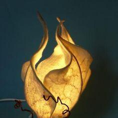 Image result for felt leaf lamp