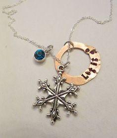 Frozen Inspired Let It Go Necklace Frozen by HandmadewLovebyKCN