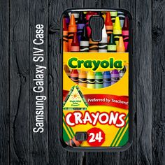 Melting Crayola Crayons for Samsung Galaxy S4 Case | SalamCases - Accessories on ArtFire
