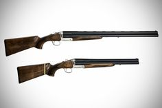 Chiappa Triple Barrel Shotgun-the Triple Crown comes equipped with longer 28″ barrels and has a fixed stock, while the Triple Threat has shorter 18.5″ barrels and a stock that can be partly disassembled.  Both guns feature a single safety and does not have a barrel selector; the firing sequence for these firearms start from the lower right barrel in a clockwise fashion.