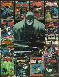 Great collection of covers by Neal Adams