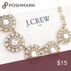 J Crew Necklace J Crew Crystal Necklace J. Crew Jewelry Necklaces