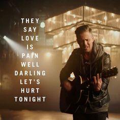 Let's hurt tonight. Don't walk away, don't roll your eyes OneRepublic Onerepublic, Cool Lyrics, Music Lyrics, Love Time Death, One Republic Lyrics, Am I In Love, Ryan Tedder, Music Jokes, Baby Songs