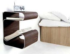 floating bedside table