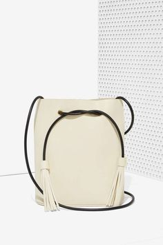 Paradigm Vegan Leather Bucket Bag - Accessories | Bags + Backpacks