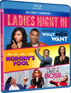 Tracy Morgan, Taraji P, What Men Want, Hollywood Cinema, Ladies Night, Like A Boss, Lady, Movie Posters, Girl Night