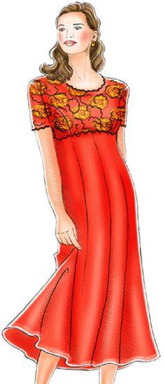 Free Dress Patterns - over 200 designs!