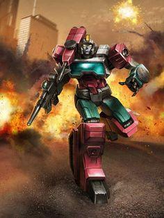 Autobot Perceptor Artwork From Transformers Legends Game
