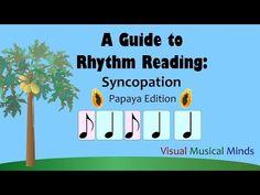 A Guide to Rhythm Reading: Syncopation ~Papaya Edition~ - YouTube